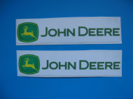 John Deere Sticker/Decals x 2